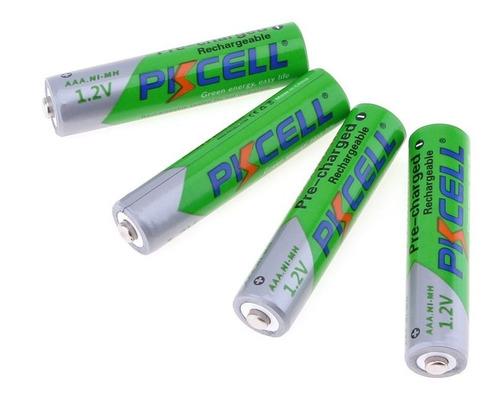 bateria pkcell recargable aaa nimh 1000 mah