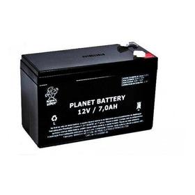 Bateria Planet Selada Vrla 12v 7a Alarme