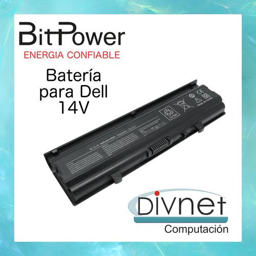 batería p/notebook dell inspiron 14v /14vr/ n4020 nueva! cba