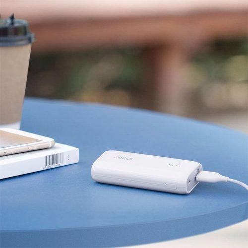 bateria portatil astro 5200 blanca anker - entrega inmediata