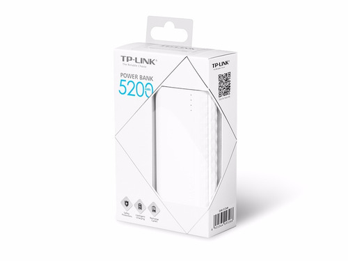 batería portátil power bank tp-link 5200 | netshop