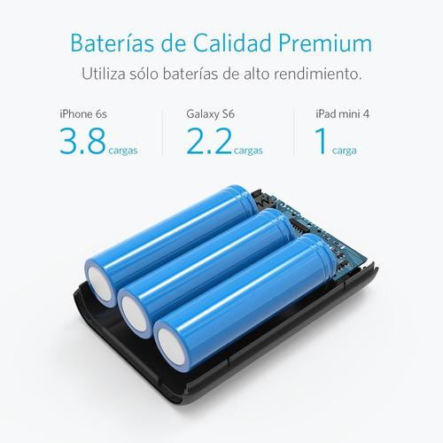 batería portátil powercore 10000 anker