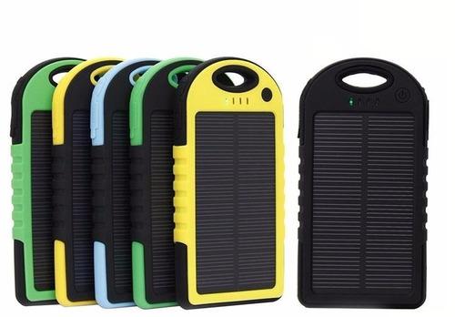 bateria portatil solar lampara led 16000 mah  (compucel)