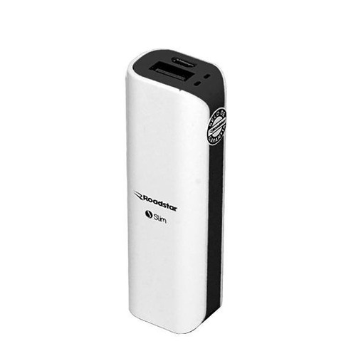 bateria power bank carregador portatil roadstar 3200mah