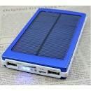 batería power bank solar y corriena prueba de agua 12.000 mh
