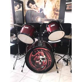 Batería Profesional Edición Especial ¡rock Star !dragonred!