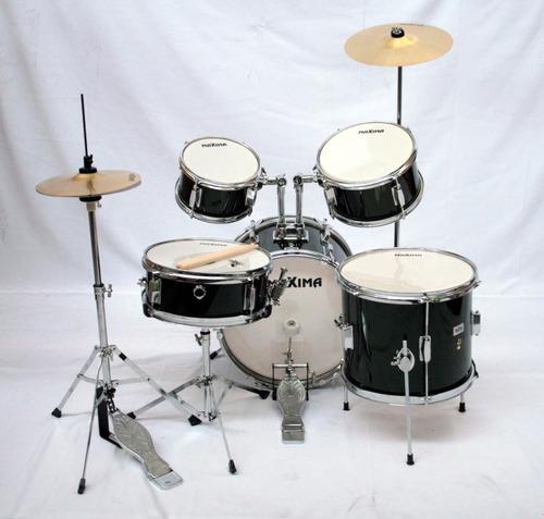 batería profesional para niños infantil junior maxima mj-50