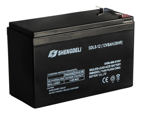 bateria pulverizador elétrico 12v 8ah gpm2000 intech