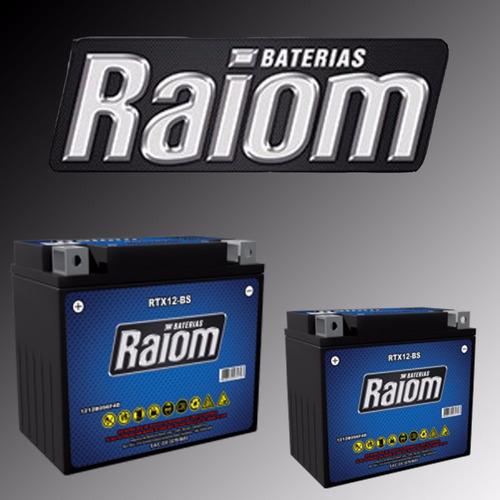 bateria raiom rtx12 bs