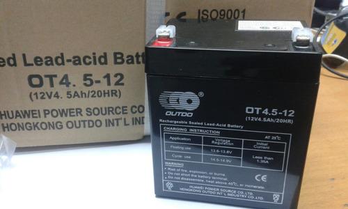 batería recargable 12v /4.5 ah