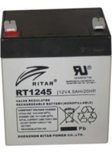 bateria recargable 12v 4.5 ah