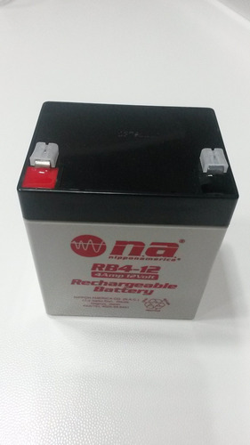 bateria recargable 12v 4ah