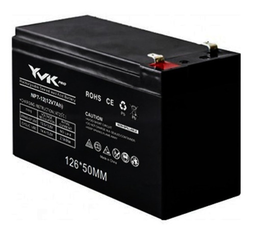 batería recargable 12v 7ah ups alarmas centrales 20 verdes