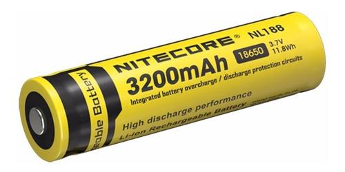 bateria recargable 18650 nitecore nl1832 li-ion 3.7v 3200mah