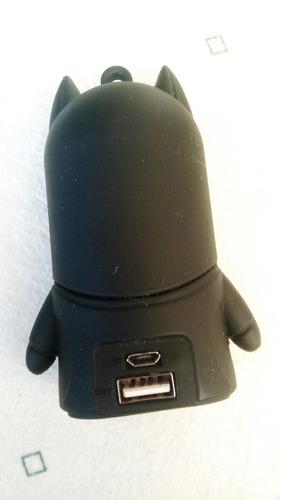 bateria recargable 8800mah figura de batman