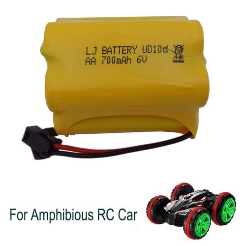 batería recargable ahahoo 6v 700mah para el coche de rc anf