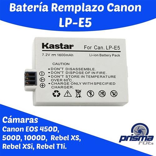 bateria recargable camara canon