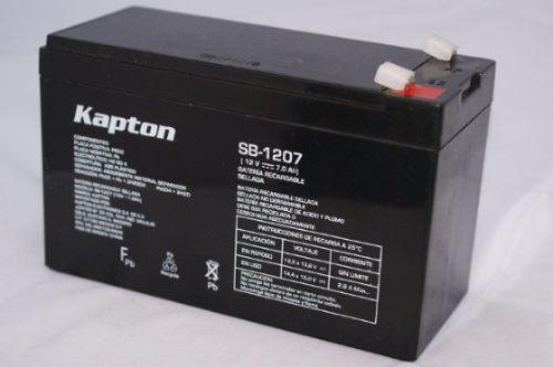 f09cbf1ff Batería Recargable Carro Electrico Kapton Sb-1207 12v 7a Ndd ...