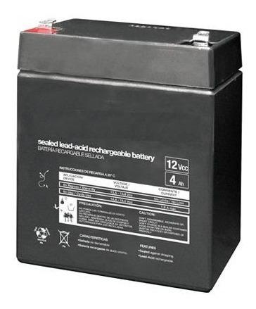 bateria recargable d acido plomo sellada 12 volts 4 ampers
