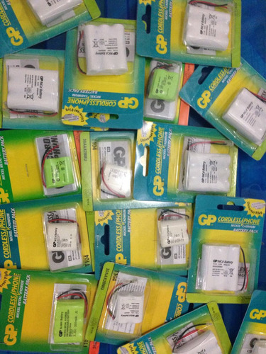 bateria recargable gp telefono inalambrico 3.6v 600mah