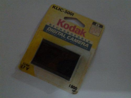 bateria recargable kodak para camara digital klic-5001