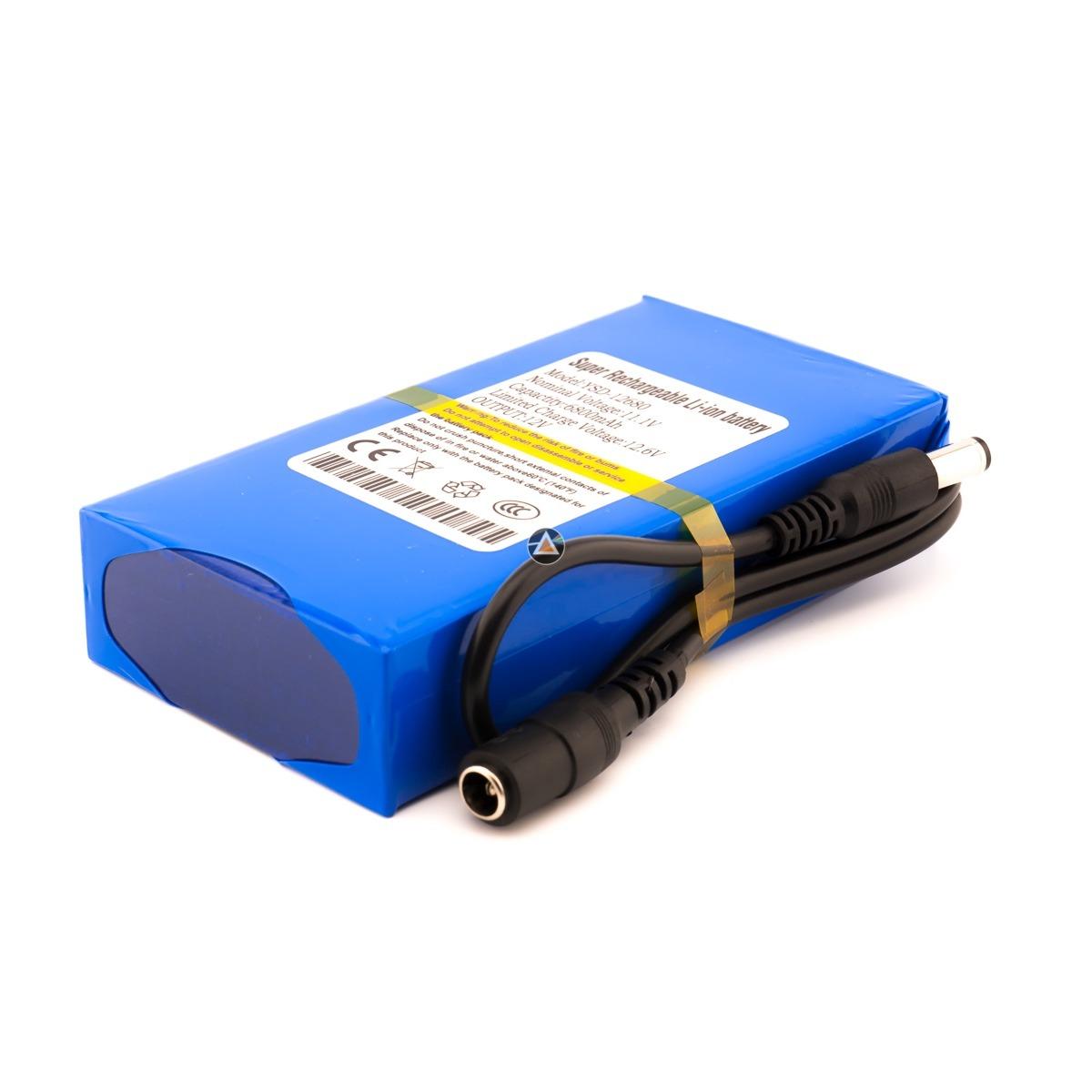 Bateria Recargable Litio 12v 6800 Mah Para Tiras Led At Tl 99900
