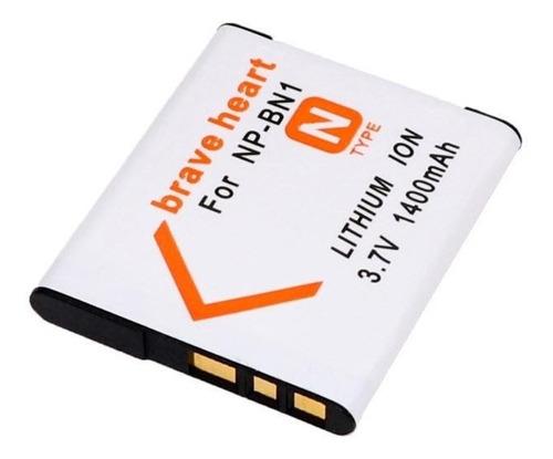 batería recargable np-bn1 para sony cybershot dscw320, w