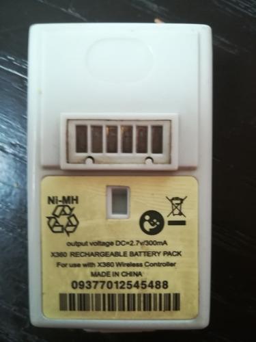 batería recargable para control xbox 360