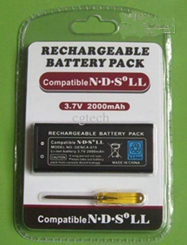 batería recargable para ndsi ll nintendo dsi ll