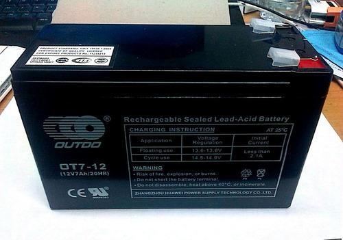 bateria recargable para ups 12v 7ah