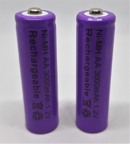 bateria recargable pila