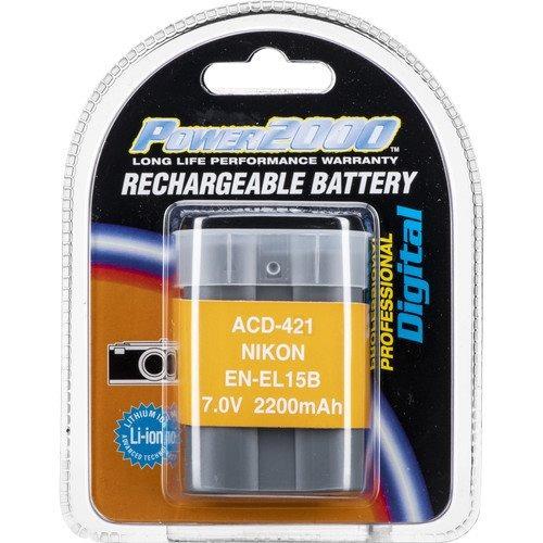 batería recargable power 2000 nikon acd 421