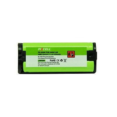 batería recargable remplazo hhr-p105 panasonic 2.4v 1000mah