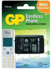 batería recargable teléfono inalámbrico panasonic hhr-p104