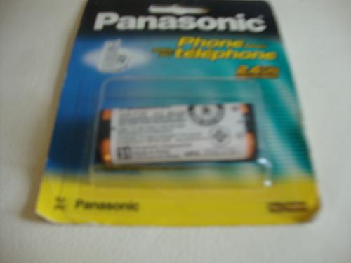 bateria recargable telefono inalambrico panasonic hhr-p105
