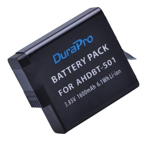 bateria recarregavel ahdbt501 p/ gopro hero 5 6 7 black