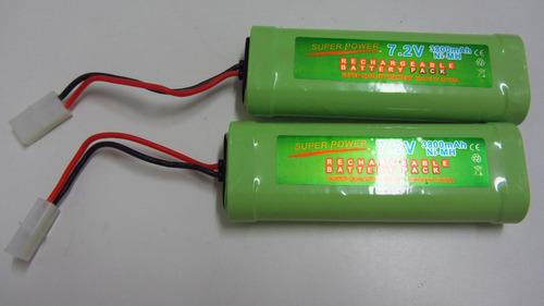 bateria recarregável de 3800 mah 7.2v nimh