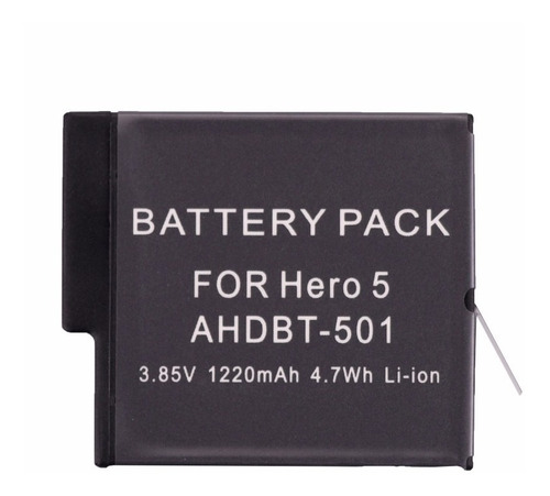 bateria recarregável extra go pro hero hero 5 6 7 black hero