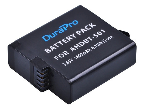 bateria recarregavel extra p/ gopro hero 5 6 7 black go pro