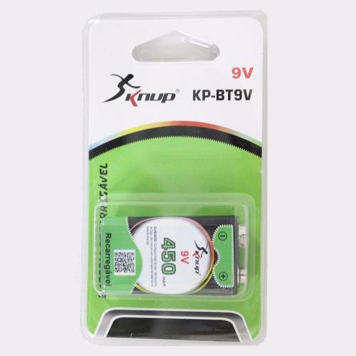 bateria recarregavel knup kp-bt9v