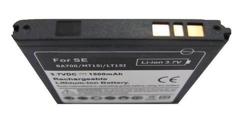 bateria reemplazo ba700 sony xperia miro xperia v xperia ray