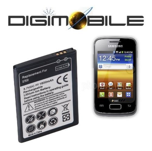 batería reemplazo samsung galaxy ace duos s6201 6102 s7500
