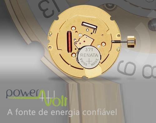 bateria renata 377 sr626sw ag4 lr626 | cart. c/01 pilha