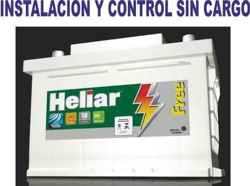 bateria renault fluence 2.0 1.6  12x75 60ah original heliar