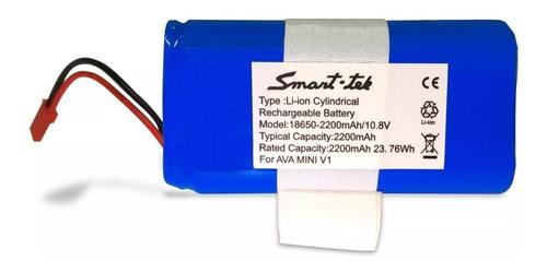 bateria repuesto ava mini v1 aspiradora robot smart tek