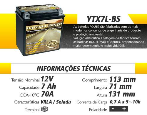 bateria route ytx7lbs twister falcon tornado hornet at 06