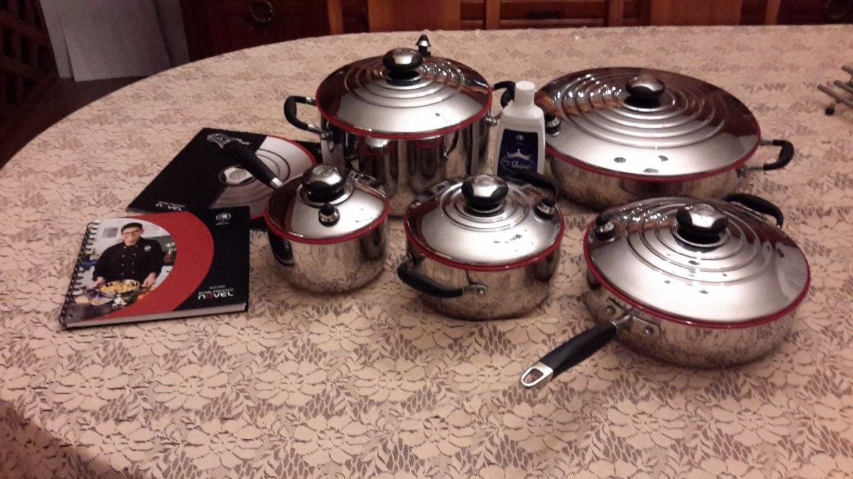 Bateria royal prestige 10 piezas envio gratis poco uso - Ollas de cocina ...