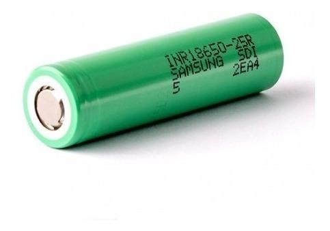 batería samsung 18650 25r para vaporizador vapes