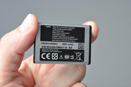 bateria samsung ab463446bu sghc266 260 c275 f250 anatel orig