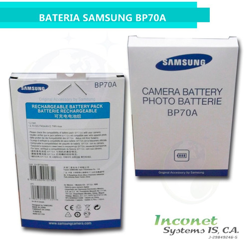 bateria samsung bp70a inco